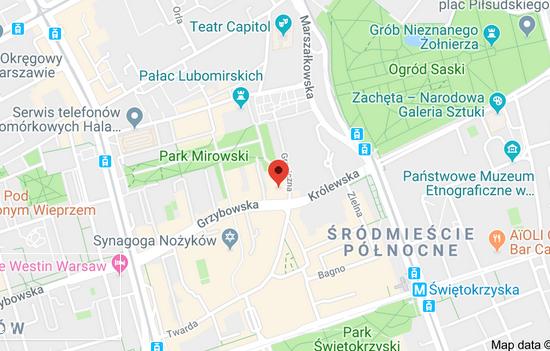Resteuracja Korado ul.Grzybowska 2, Warszawa